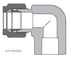 Weld Elbow
